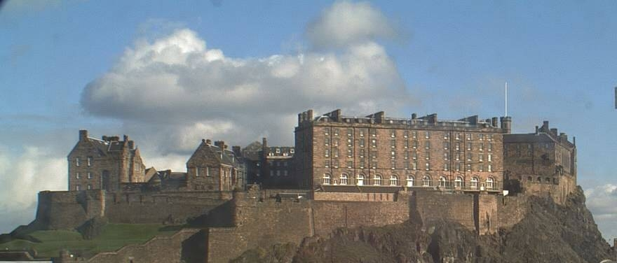 Did you know that Edinburgh Castle became a military base in the 1600s?